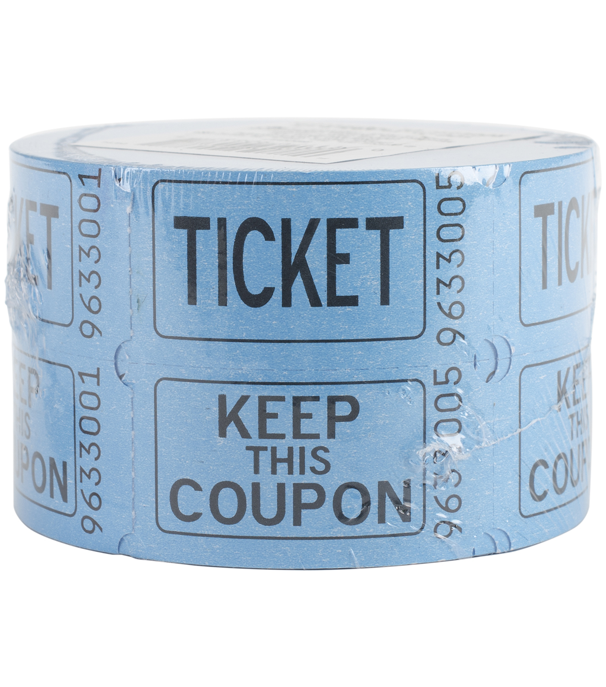 Double Tickets 500 Tickets/Roll-Assorted