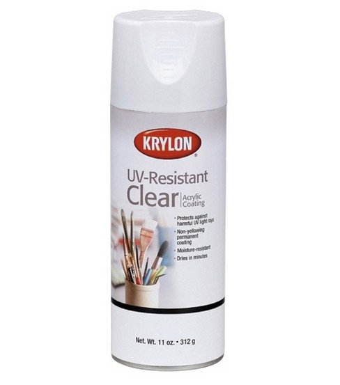 Krylon UV-Resistant 11 oz. Acrylic Coating Aerosol-Clear