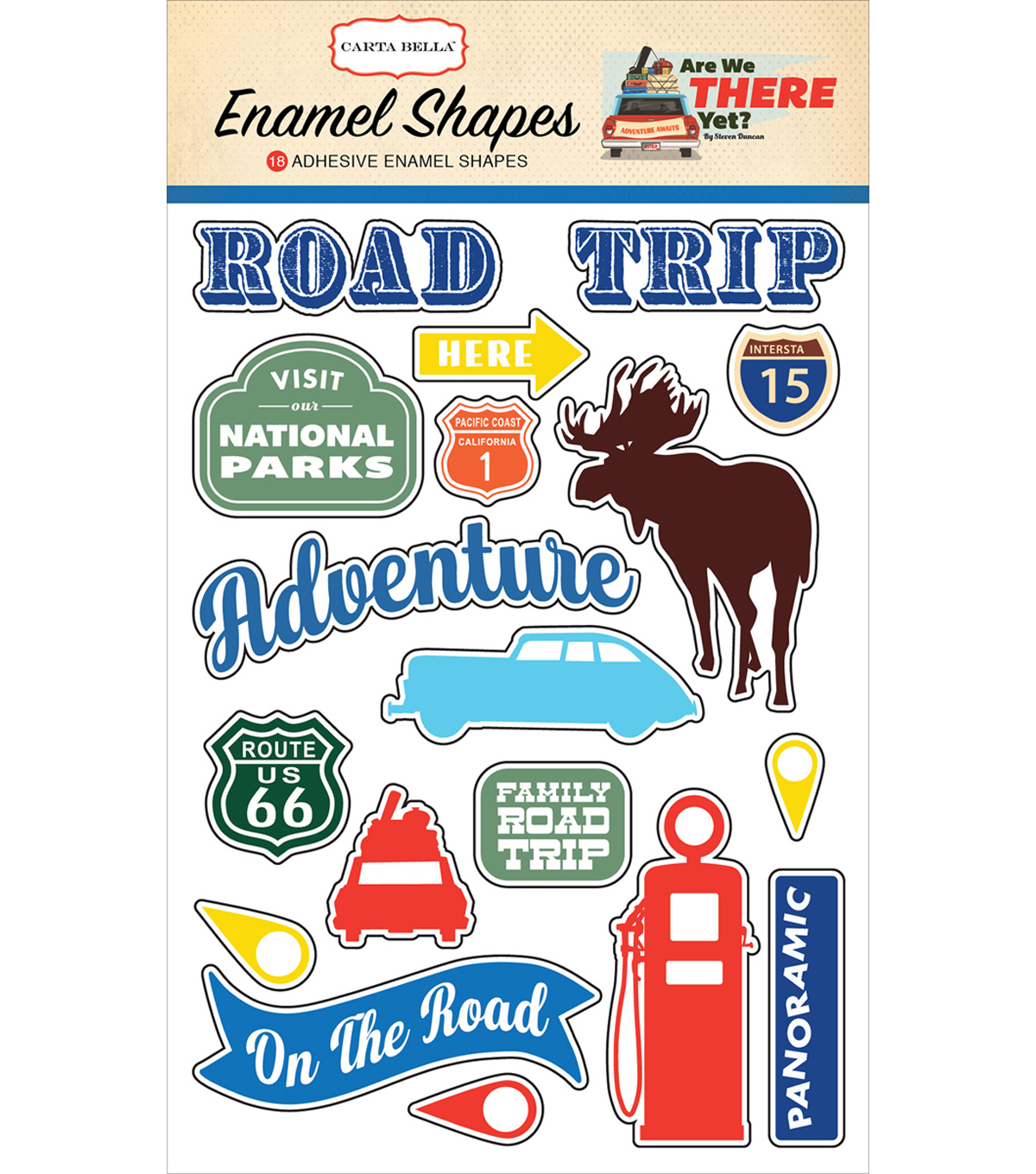 Are We There Yet? Adhesive Enamel Shapes