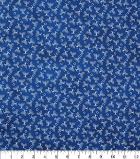 Hanukkah Cotton Fabric-Hanukkah On Blue