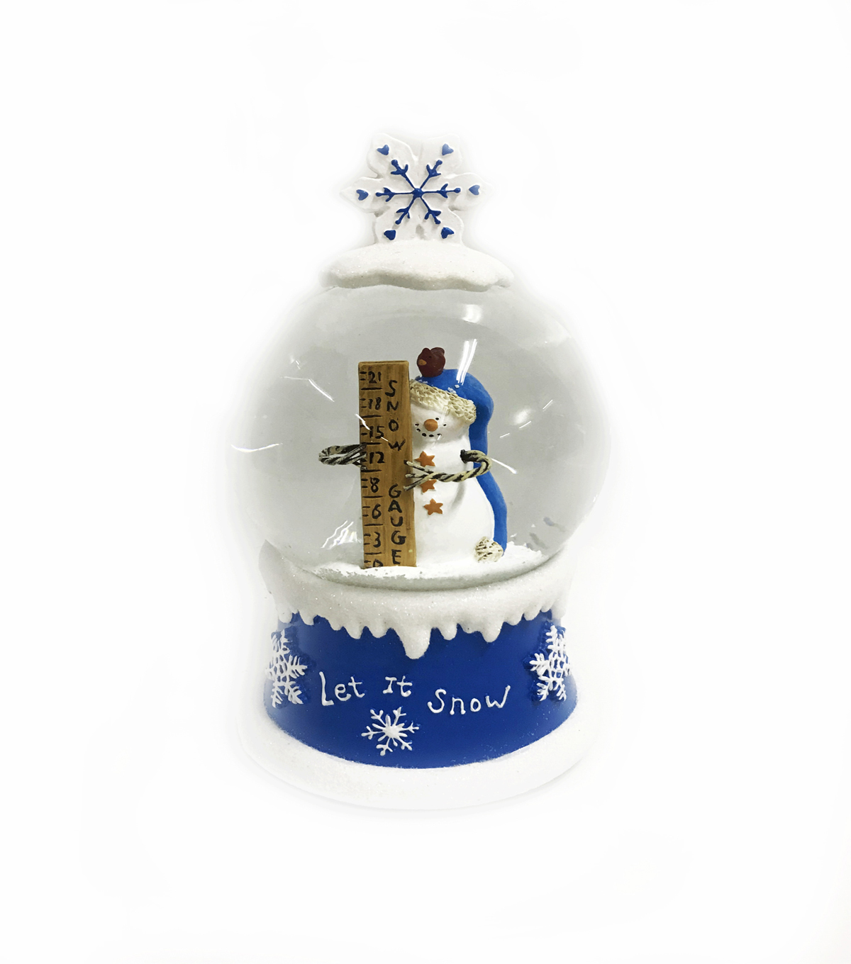 Maker\u0027s Holiday Christmas Snowman Water Globe