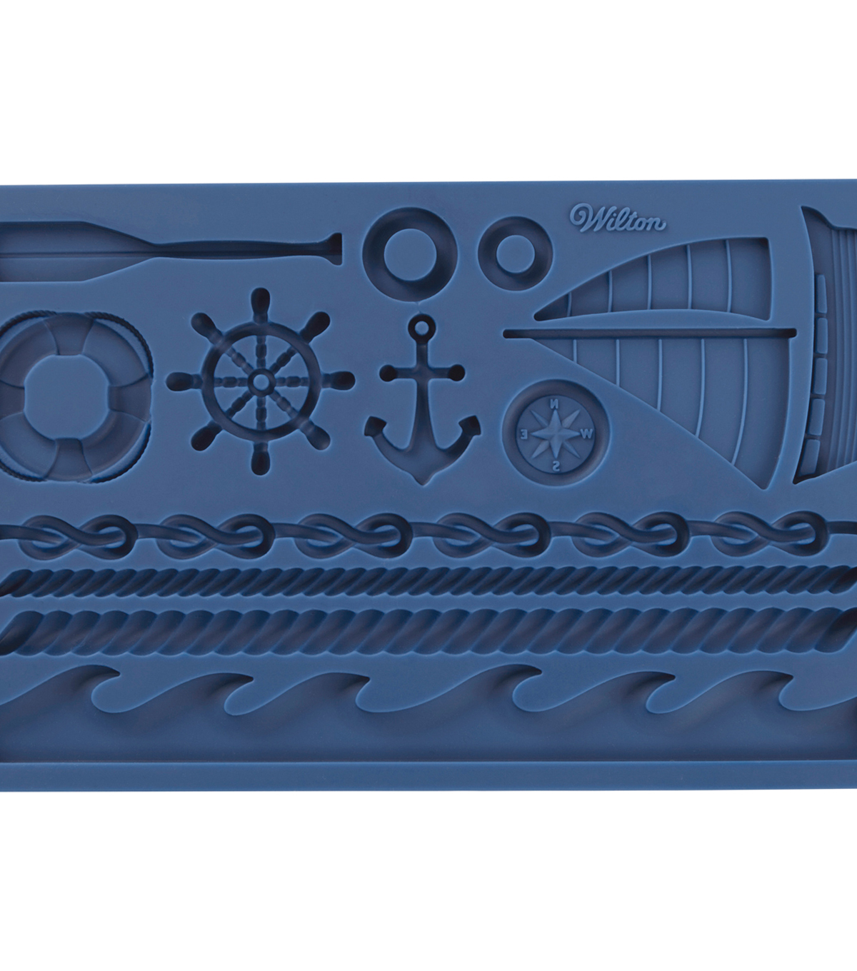 Wilton Fondant & Gum Paste Silicone Mold-Nautical