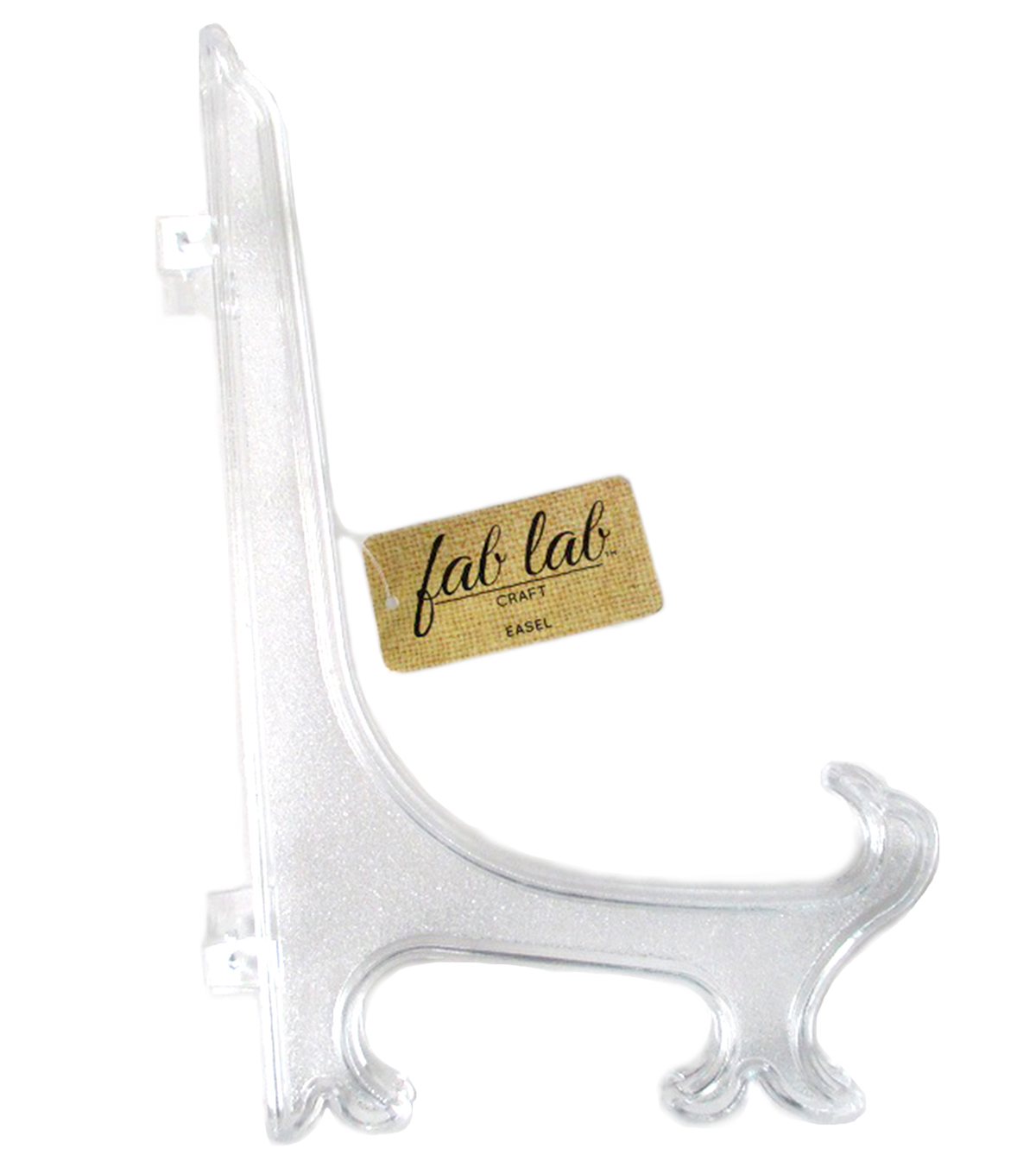 6.75 inch Clear Plastic Easel