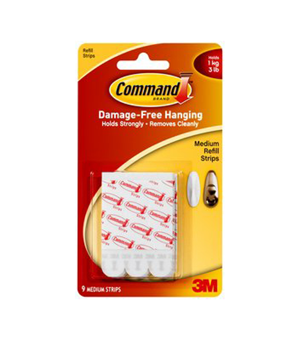 Command Medium Refill Strips