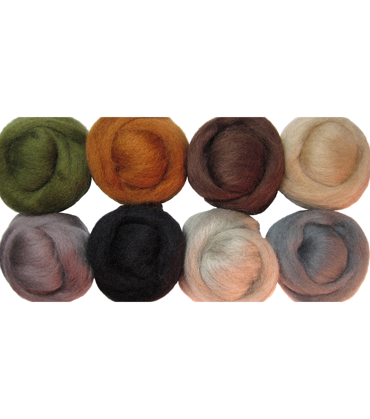Wistyria Editions Ultra Fine Wool Roving, Rustic