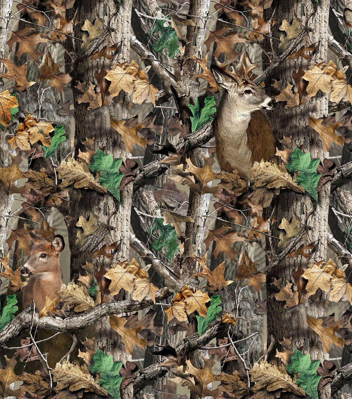 Realtree Camouflage Deer Fleece Fabric 58 Quot Joann