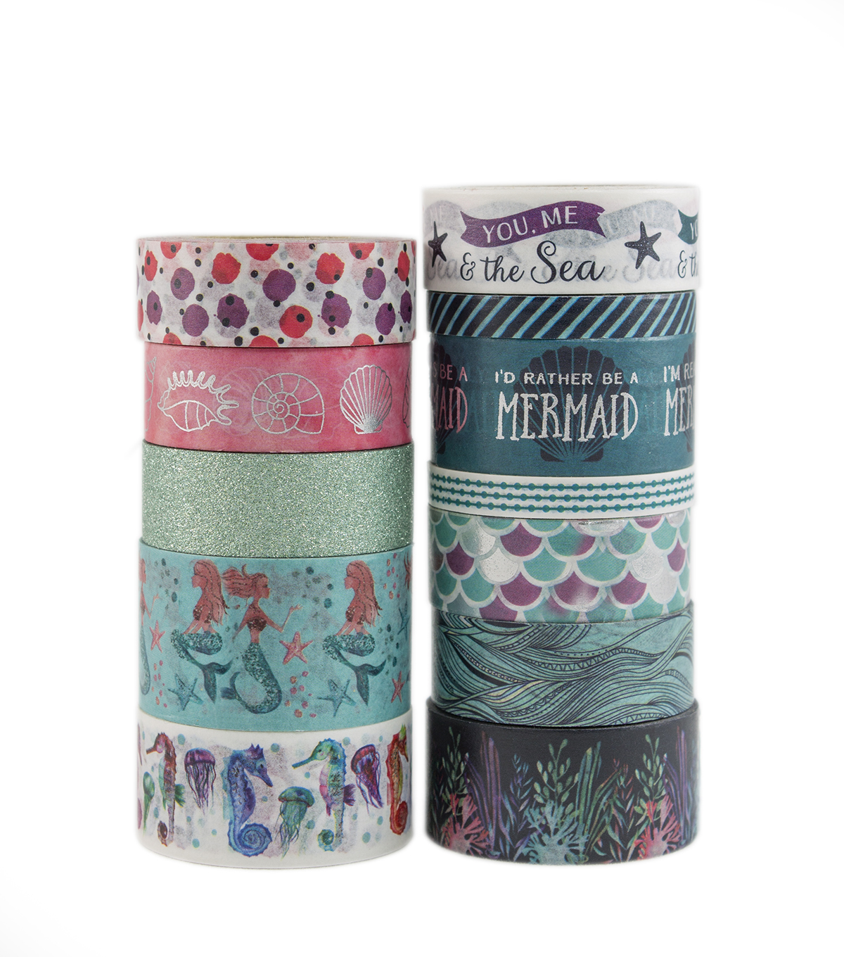 Park Lane Value Washi Tape-Ocean Waves