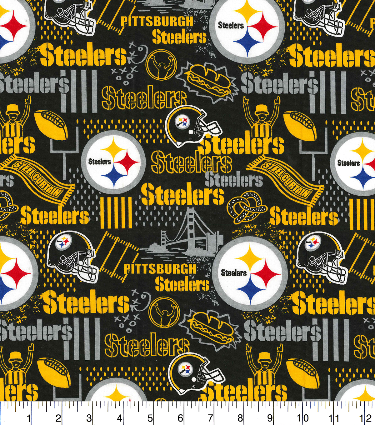 Pittsburgh Steelers Cotton Fabric