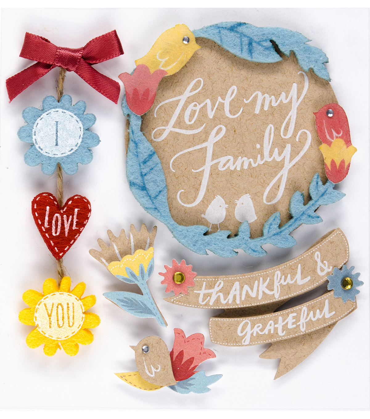 Jolee's Boutique Stickers-Love You