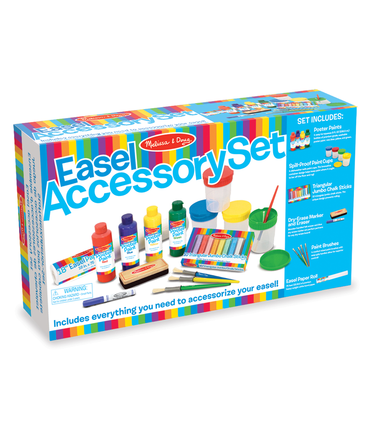 Melissa Doug Easel Accessory Set