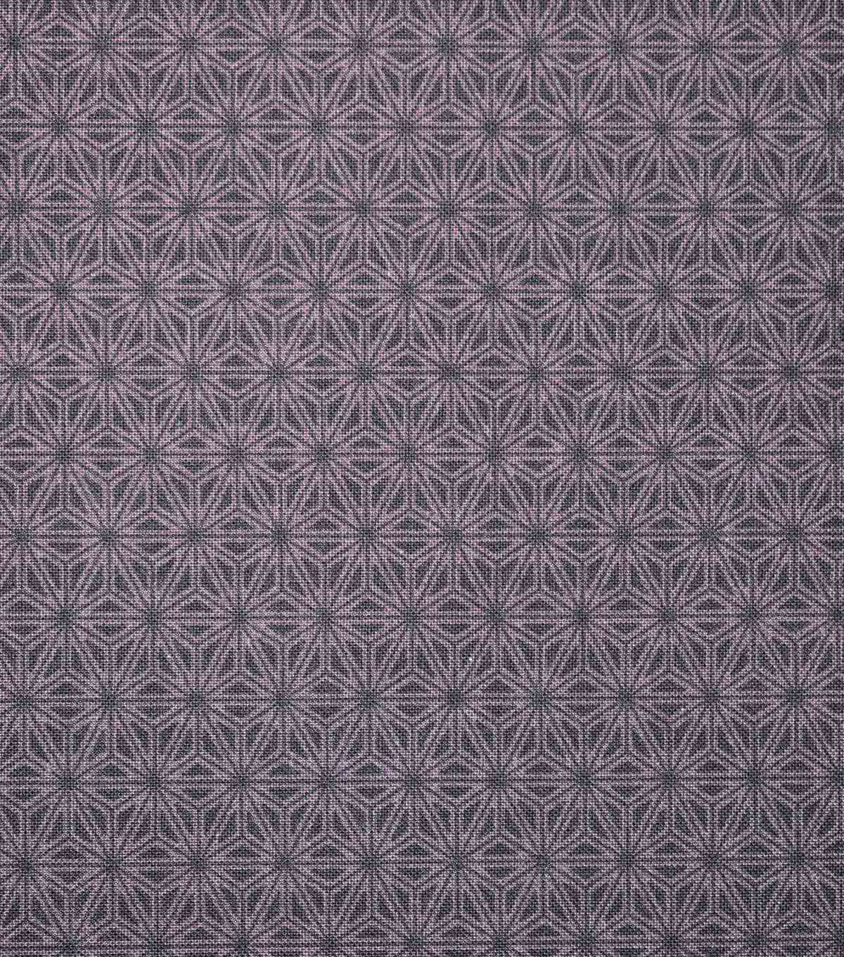 Asian Inspired Premium Cotton Print Fabric 44\u0027\u0027-Starburst on Purple