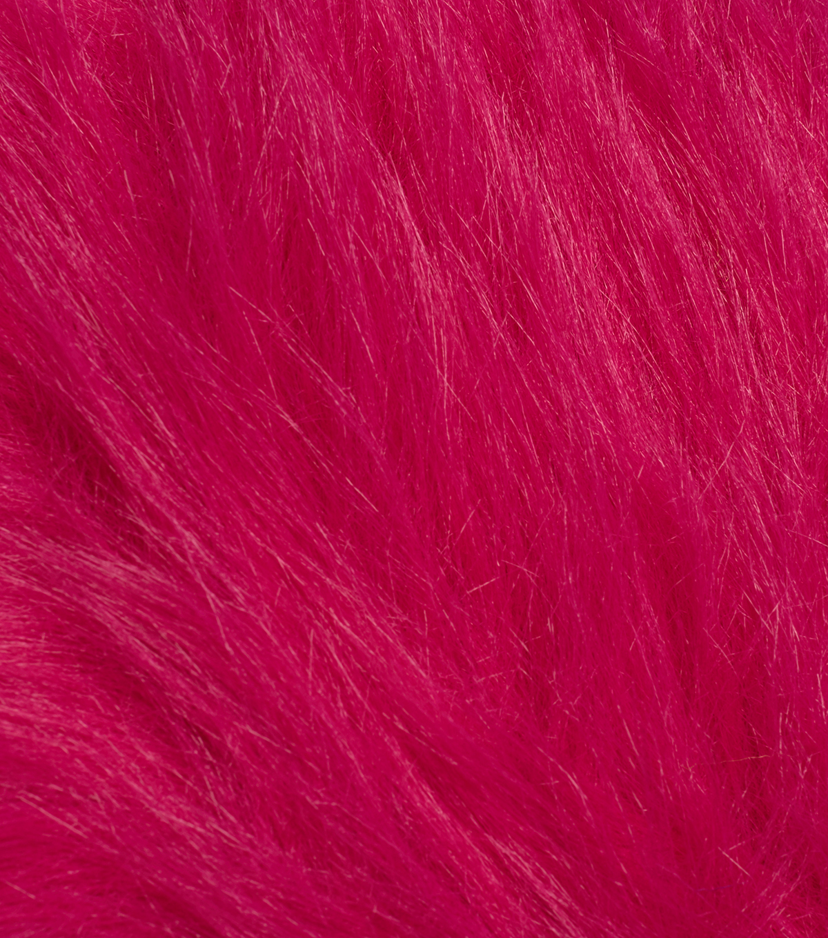 Fashion Faux Fur Fabric 59\u0022-Magenta