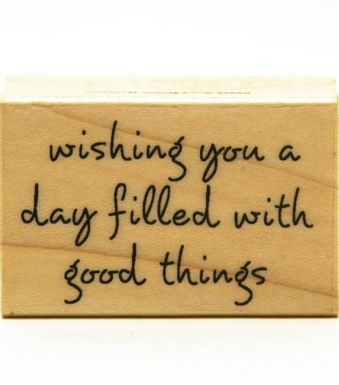 Hero Arts Rubber Stamp-Wishing Good Things