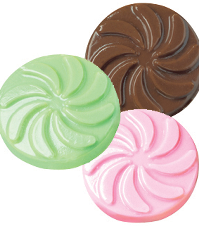 Wilton Candy Mold Wedding Mint