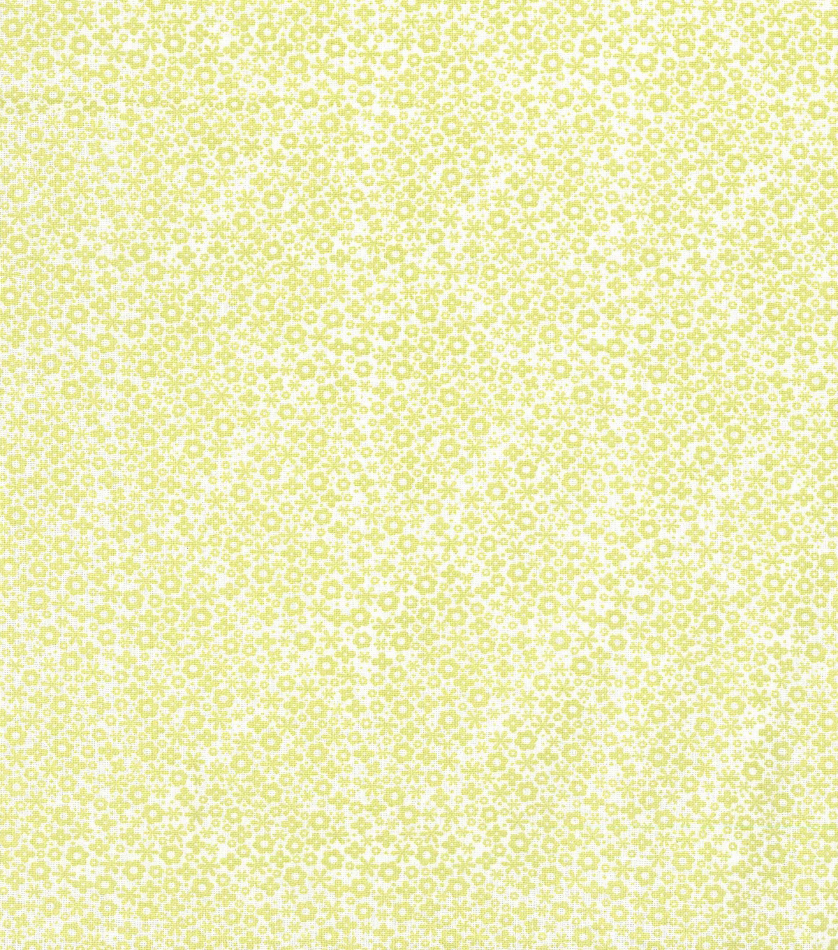 Keepsake Calico Cotton Fabric -Pretty Ditsy Lime