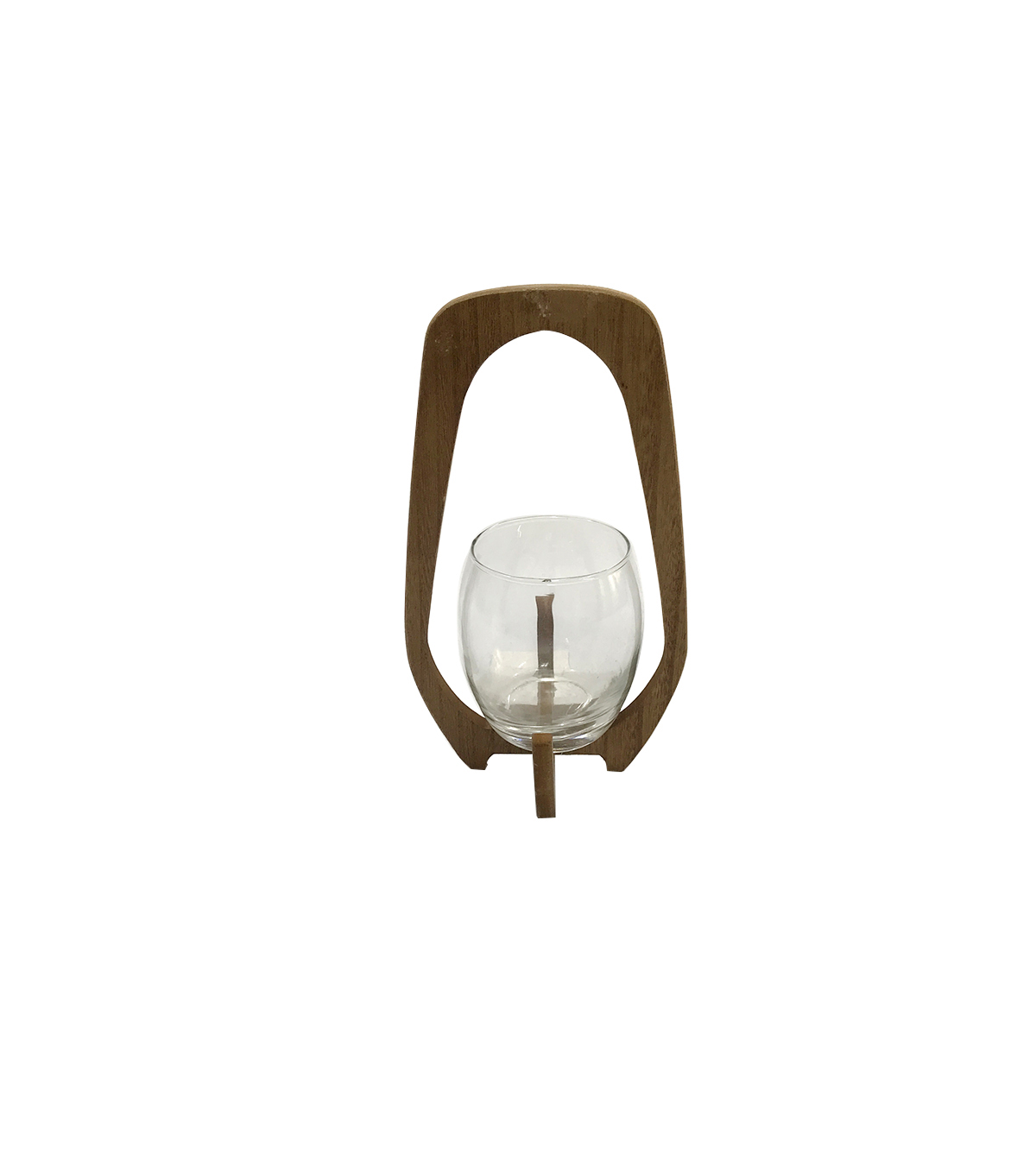 Simply Spring Large Wood Candleholder