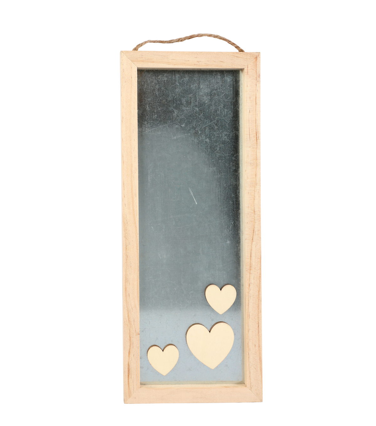 Valentine\u0027s Day Craft Wood & Metal Rectangle Frame