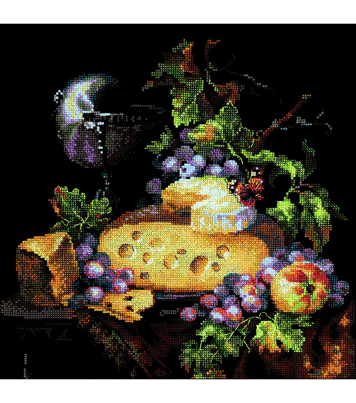 RIOLIS Create it Yourself Counted Cross Stitch Kit-Dutch Still Life