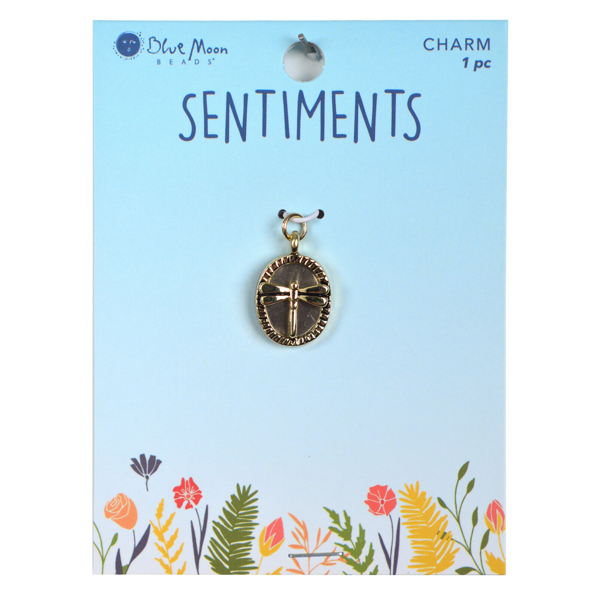 Blue Moon Beads Sentiments Luxe Pendant-Dragonfly 1