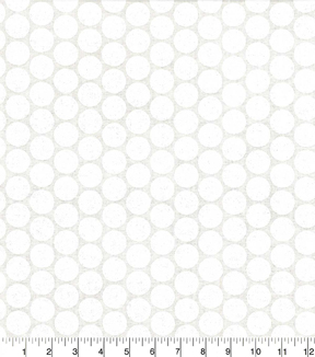 Quilter\u0027s Showcase Cotton Fabric -Dots White