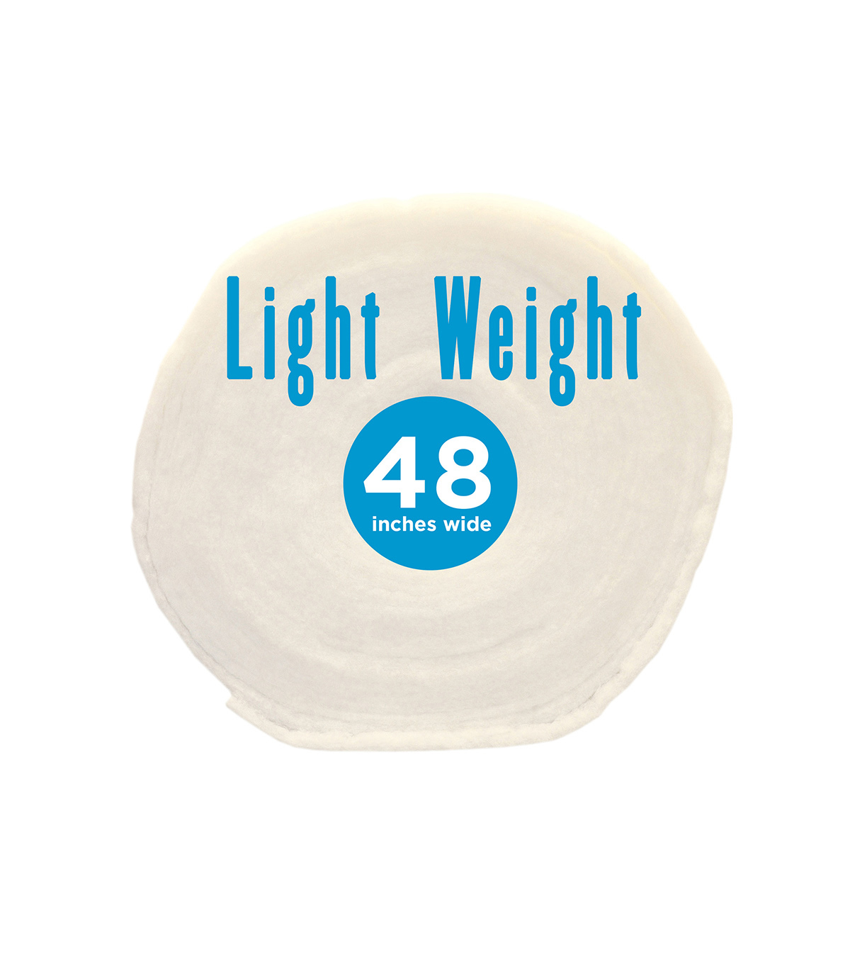 Poly-Fil Light-Weight Batting 48\u0022 wide x 45 yard Roll