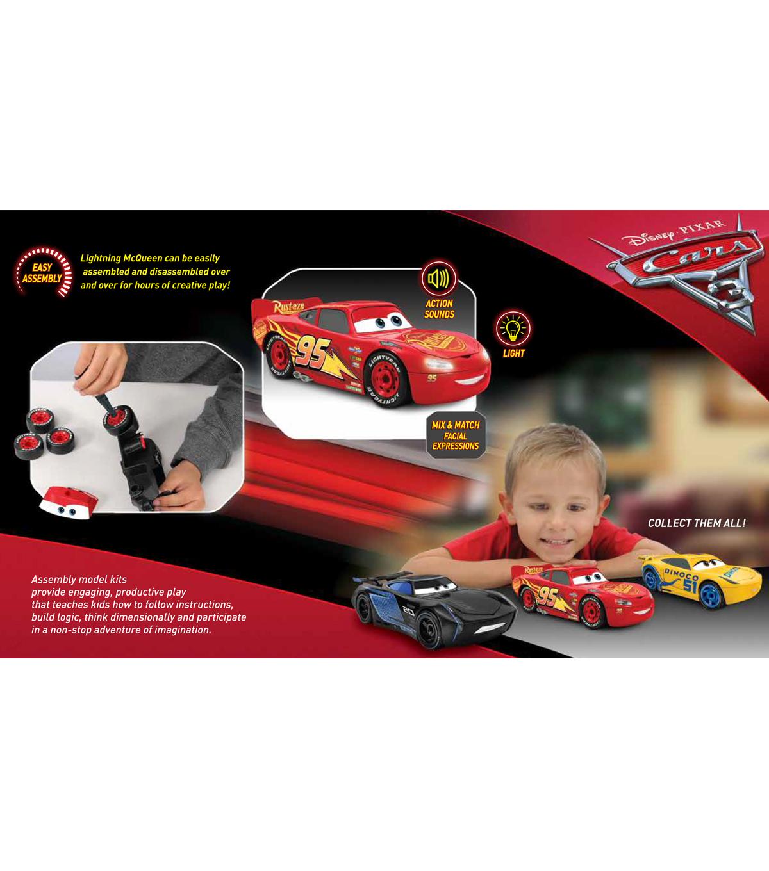 Revell Junior Model Kit Disney Lightning McQueen Car