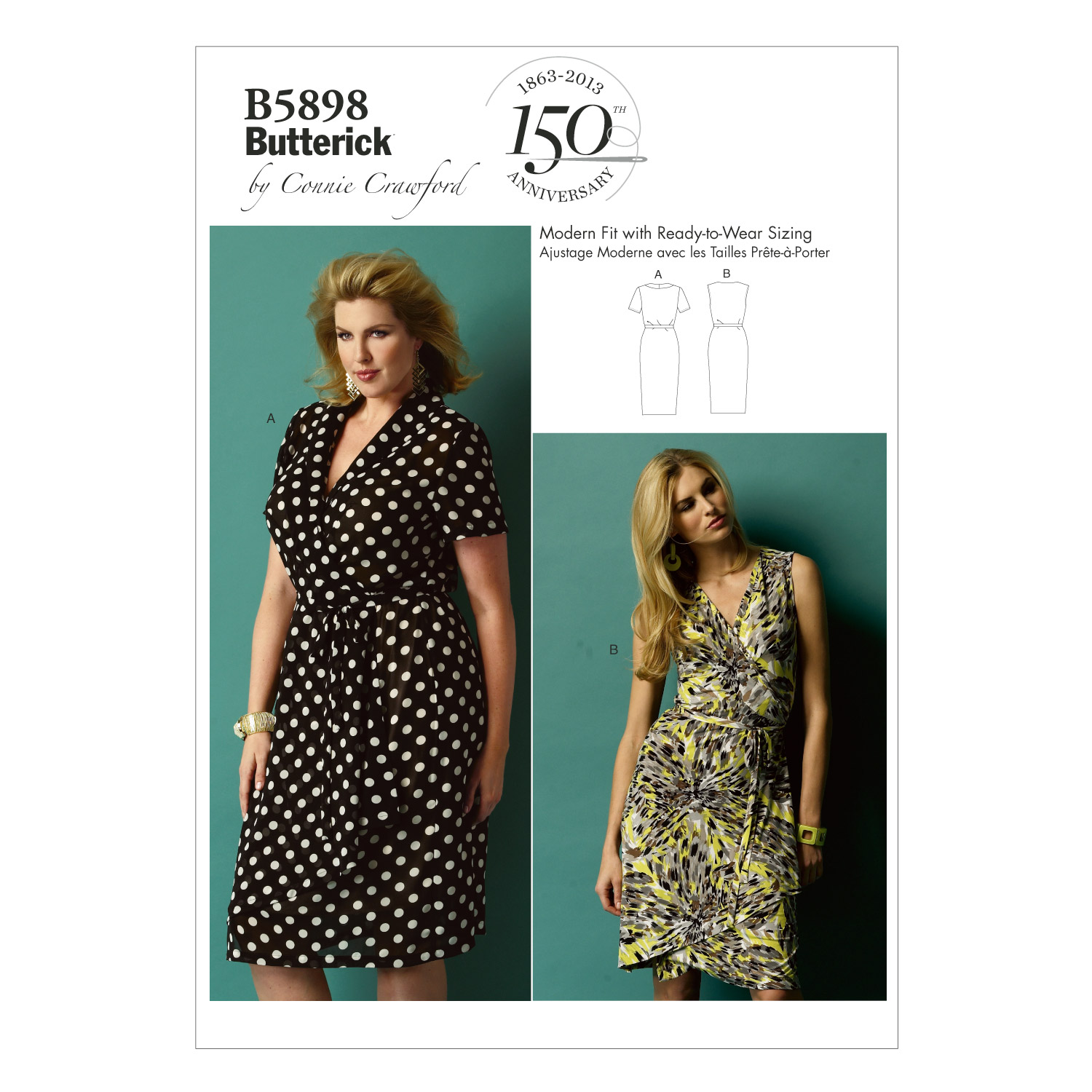 Butterick Women\u0027s Dress-B5898