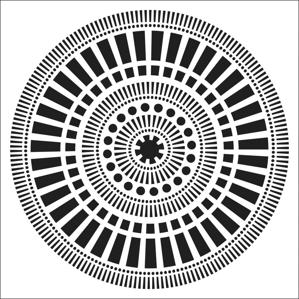 Crafter\'s Workshop Template Mayan Calendar 6\