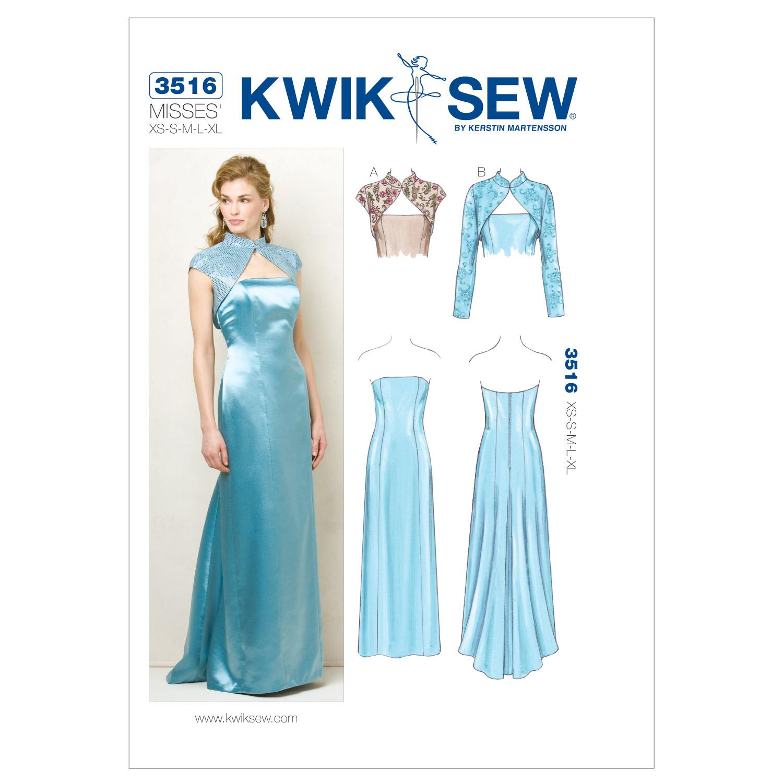 Dress and Jackets-XS-S-M-L-XL Pattern | JOANN