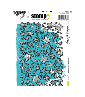 Carabelle Studio Art A6 Cling Stamp-Background: Stargazing