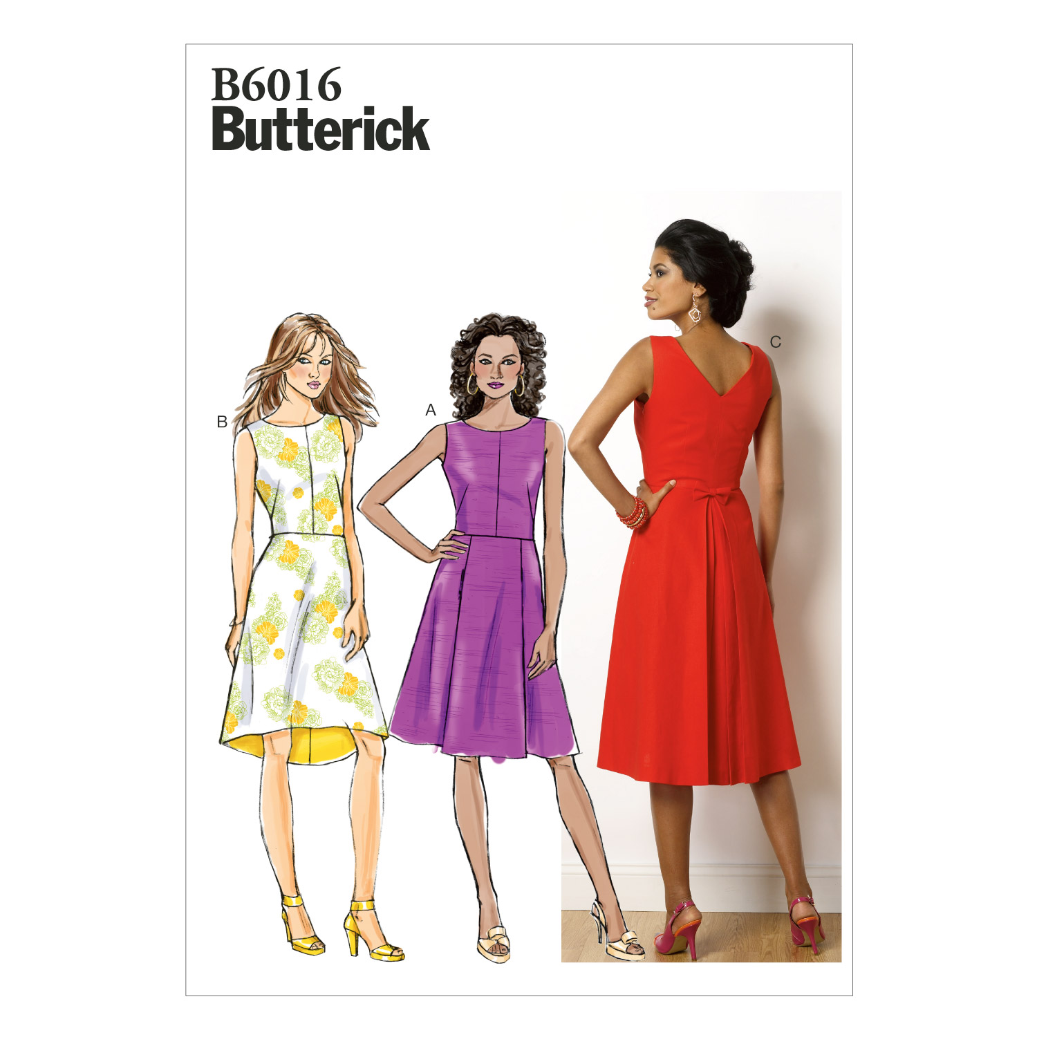 Butterick Misses Dress-B6016