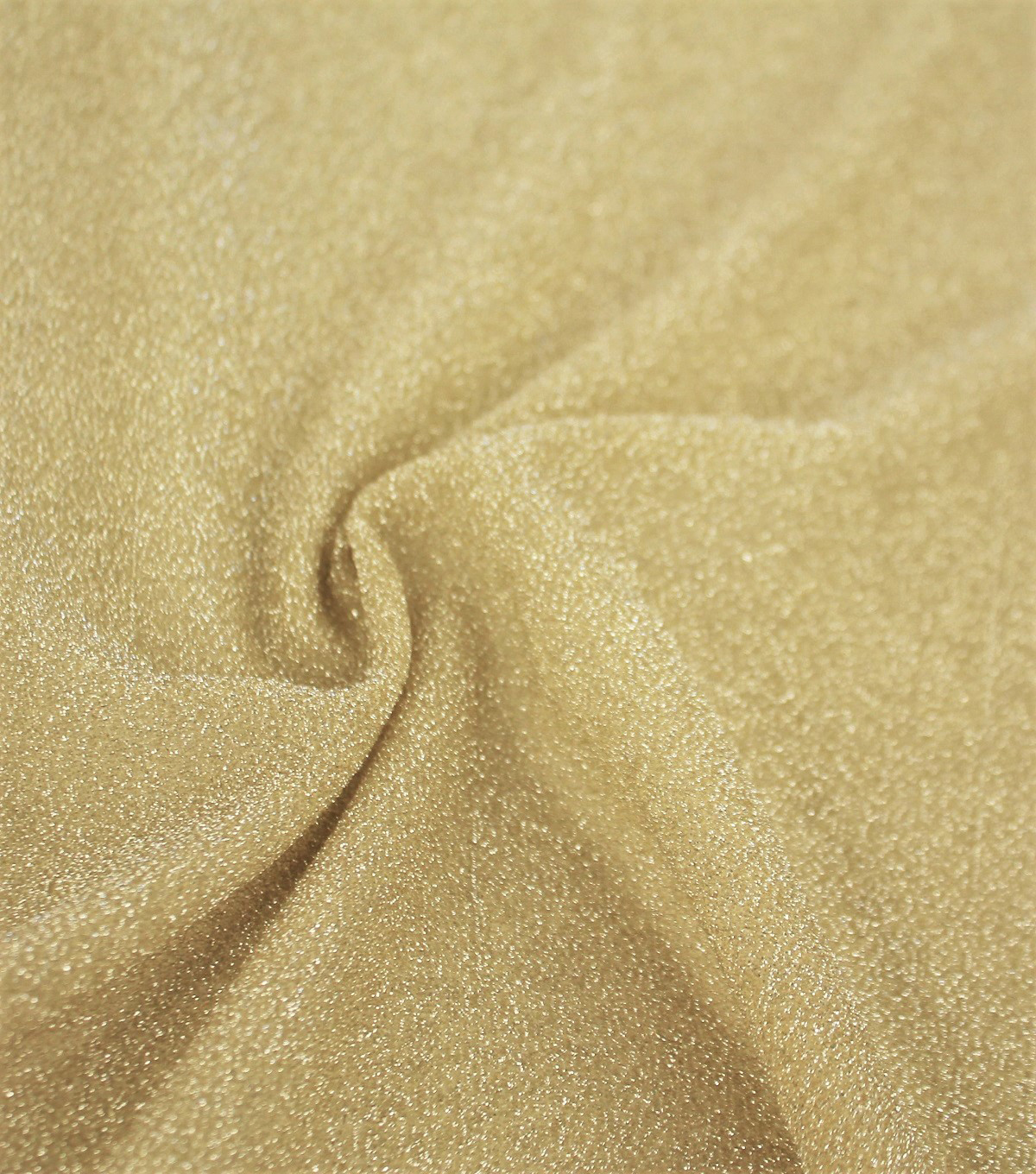 Metallic Knit Fabric -Gold