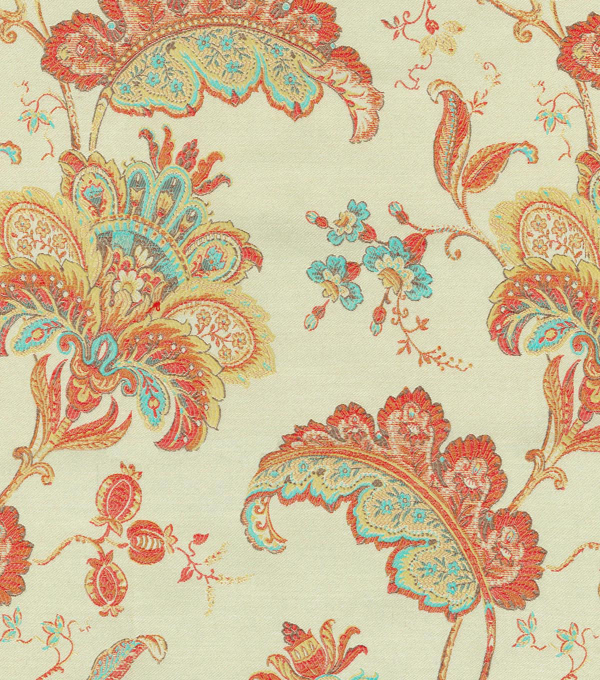 Waverly Upholstery 8x8 Fabric Swatch-Fleur du Jour/Soiree