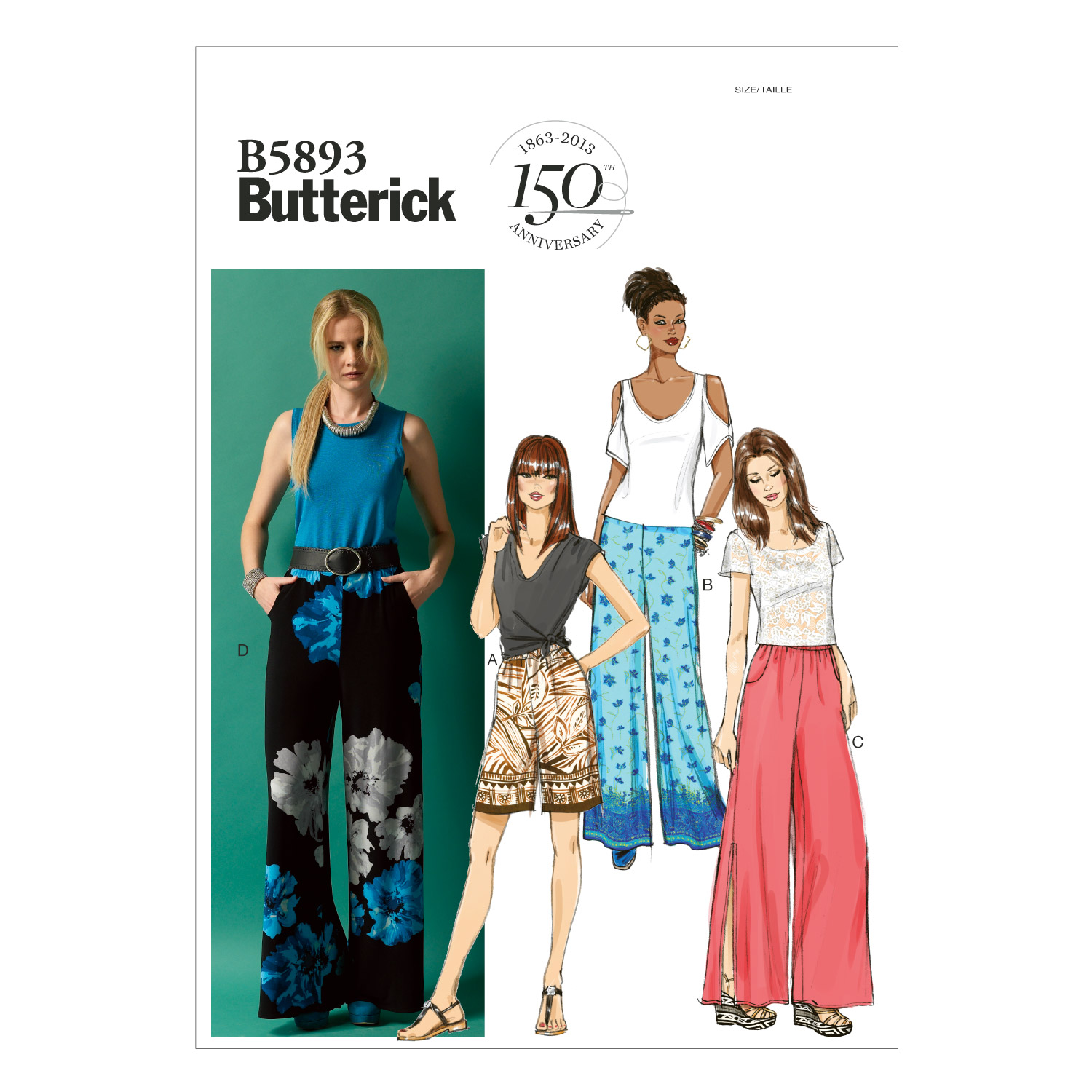 Butterick Misses Pants-B5893