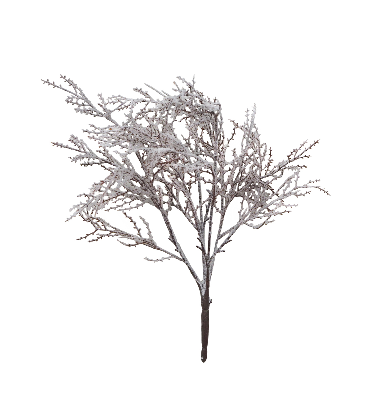 Blooming Holiday Christmas 21\u0027\u0027 Flocked Branch Bush