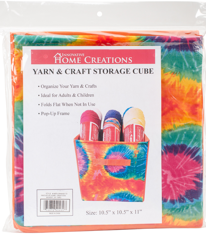 Yarn U0026 Craft Storage Cube 12\u0022X12\u0022X12\u0022 Orange ...