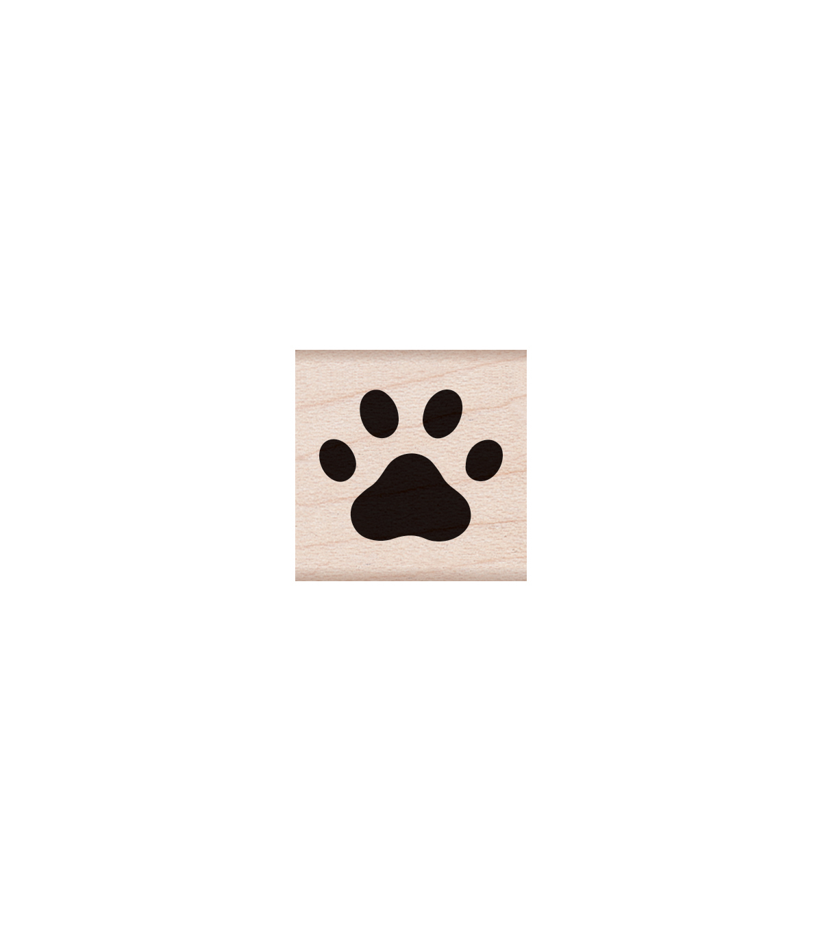 Hero Arts Wood Mounted Rubber Stamp-Paw Print