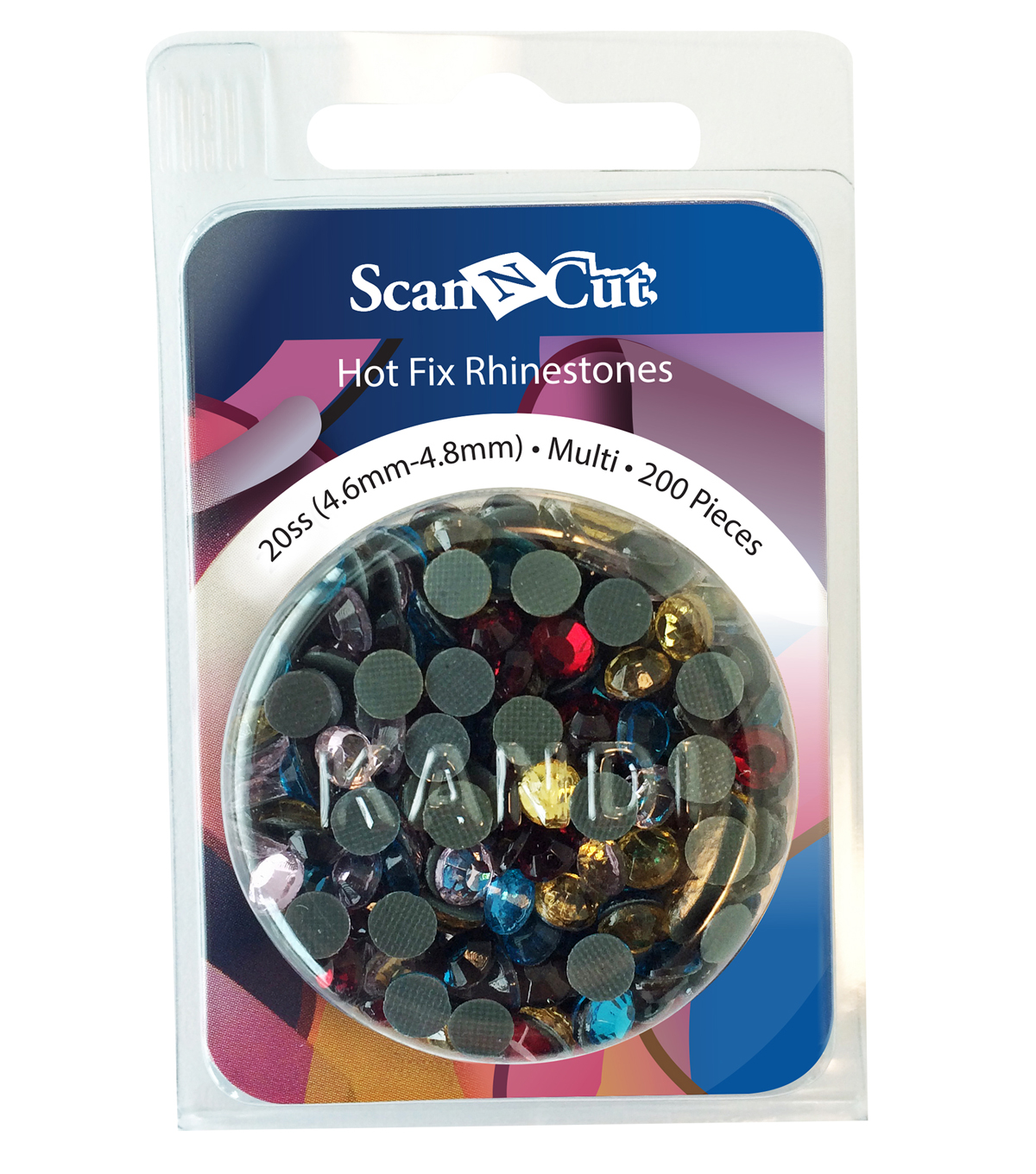Brother ScanNCut 200pc 20SS Rhinestone Refill Pack-Multi