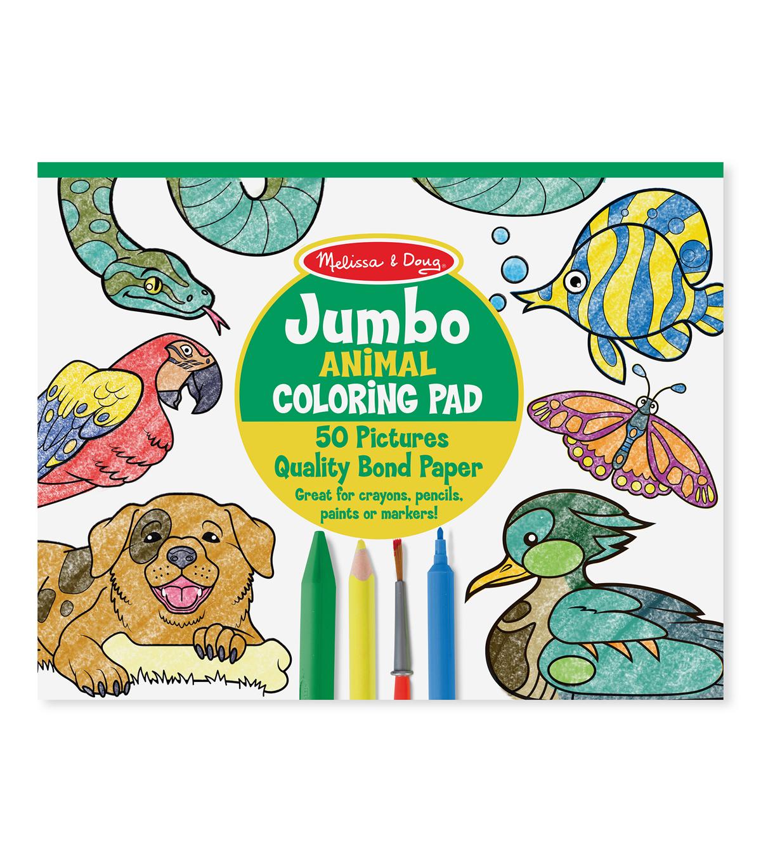 Jumbo Coloring Pad 11\