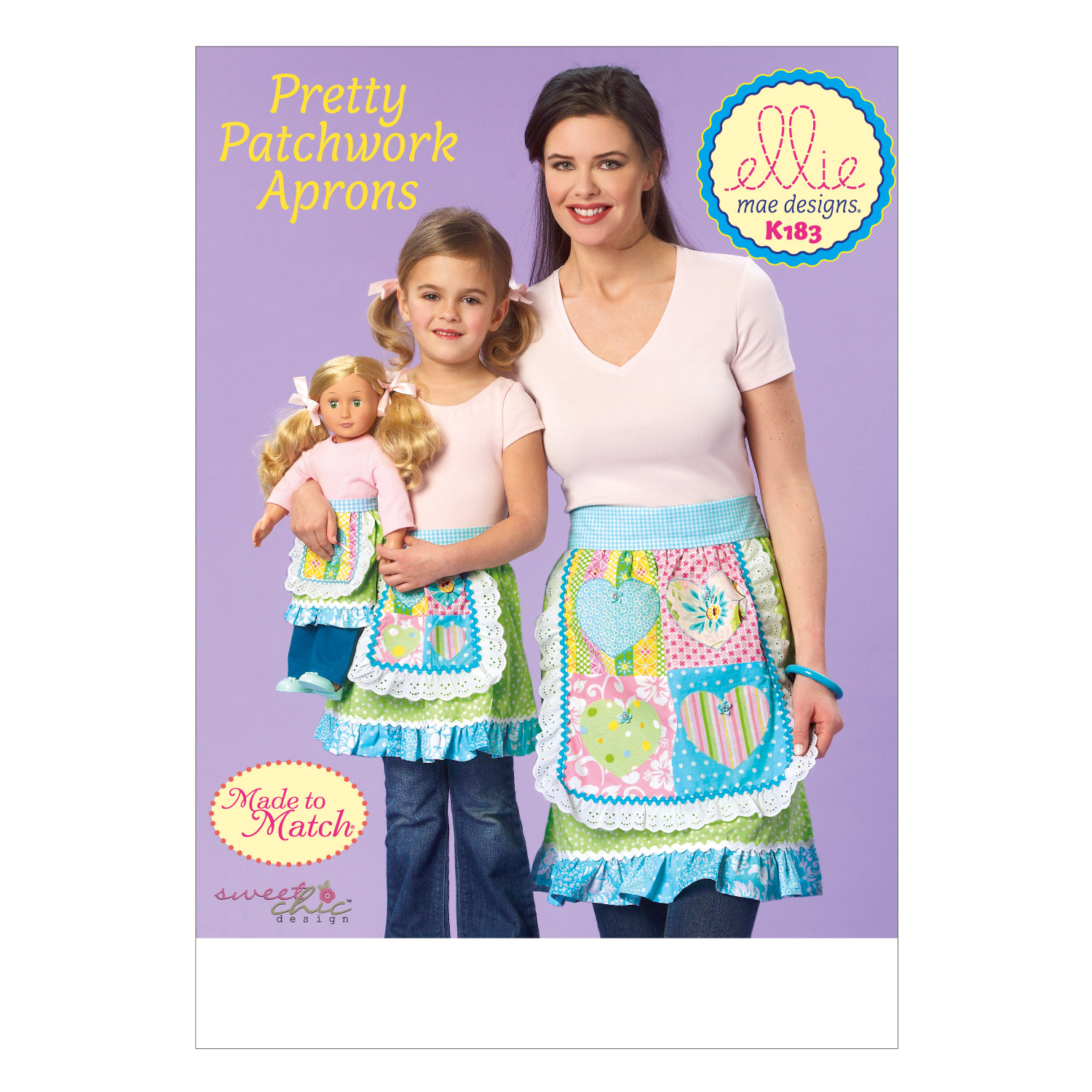 Kwik Sew Pattern K0183 Misses\u0027 & Girls\u0027 Aprons