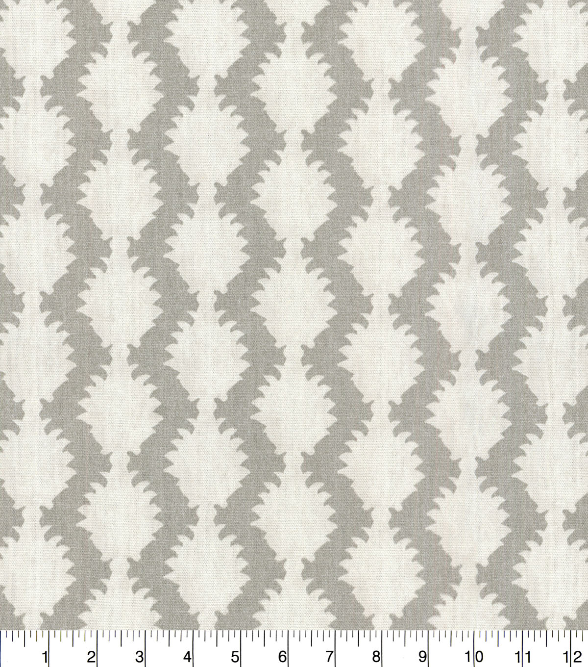 Waverly Designer Upholstery Fabric 54\u0022-True to Form Silver