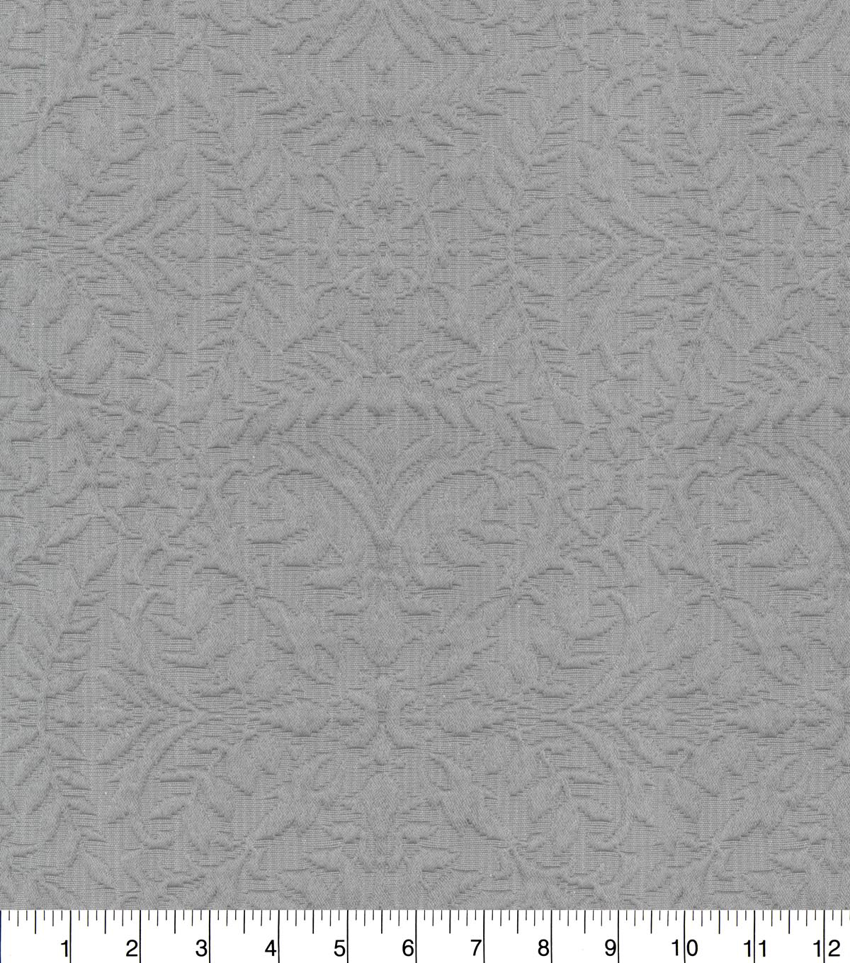 Williamsburg Upholstery Fabric 54\u0027\u0027-Pewter Montagu Matelasse