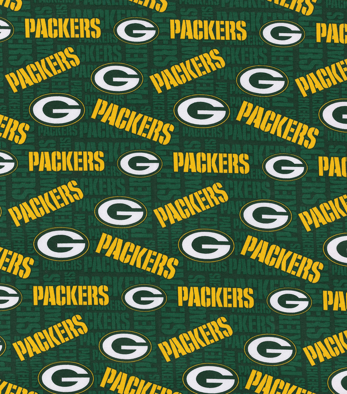 Green Bay Packers Cotton Knit Fabric