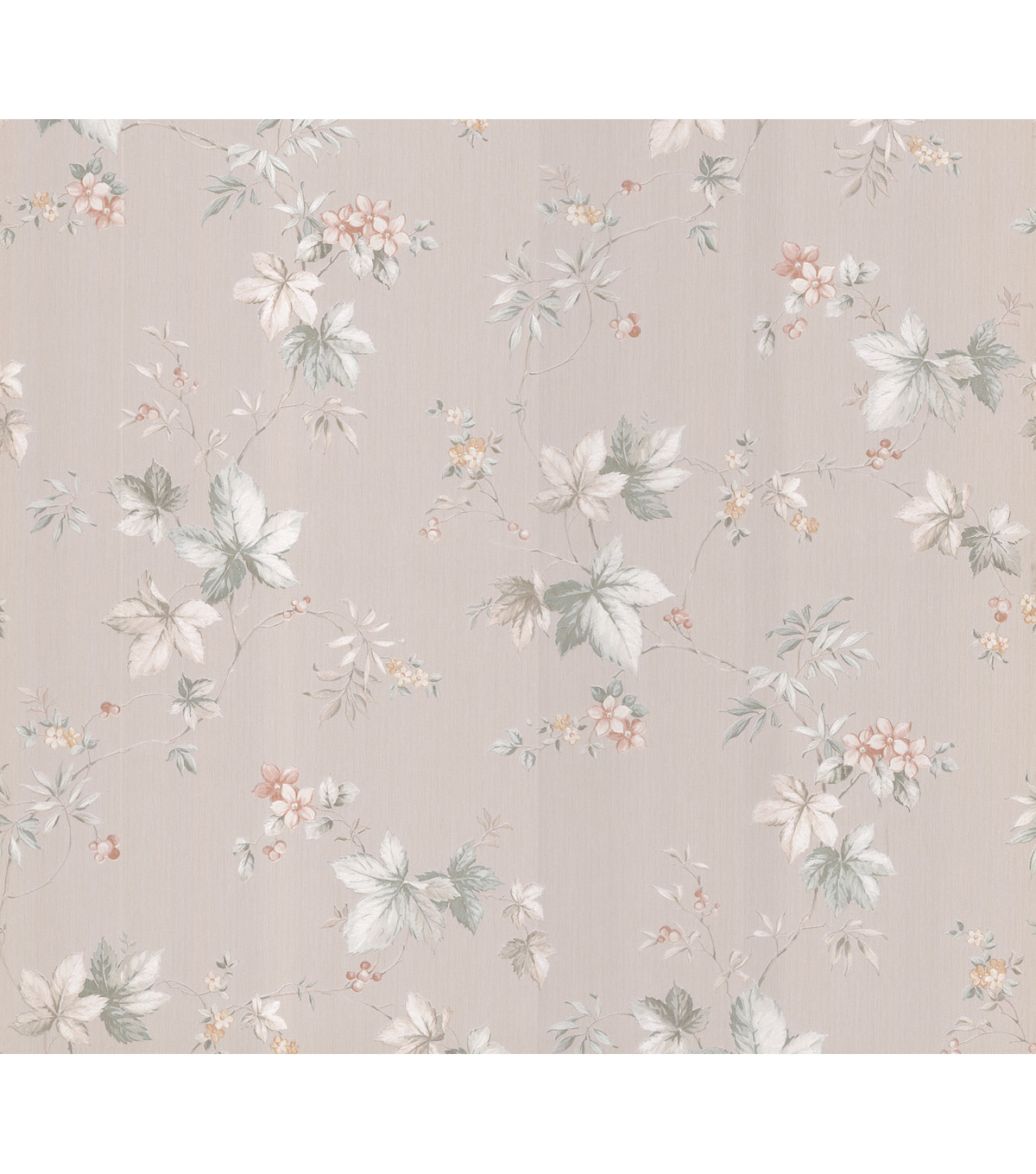 Yoshie Cream Floral Trail Wallpaper Sample