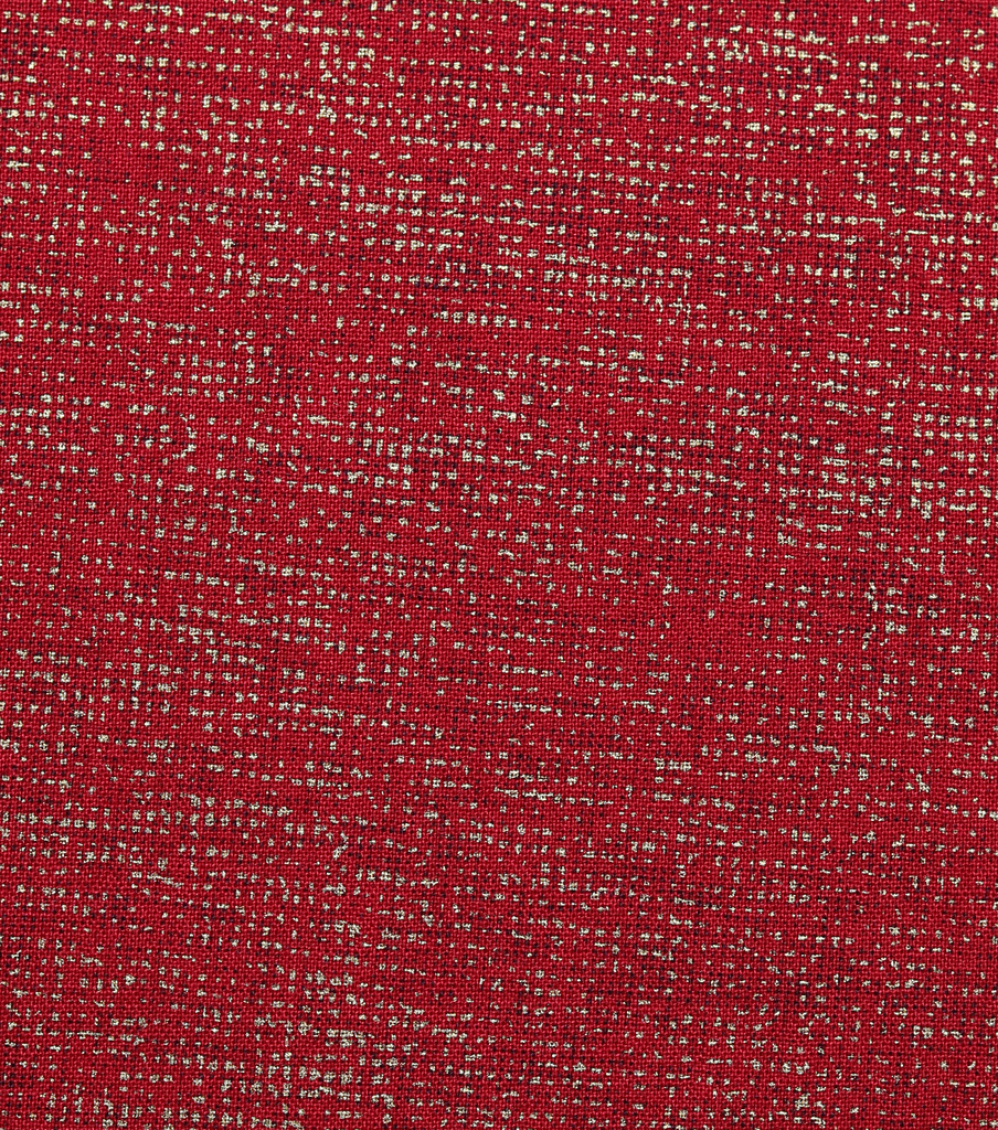 Christmas Cotton Fabric-Red Holiday Crosshatch