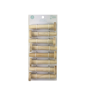 Jillibean Soup 8 pk Pegboard Dowels with Circle Knob