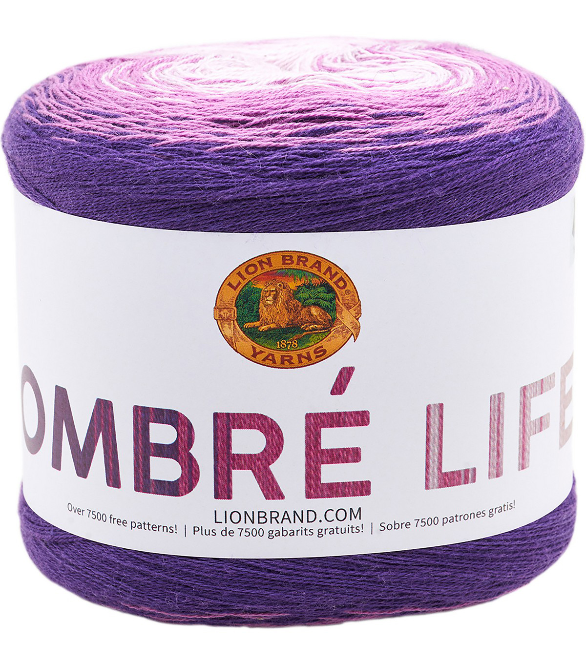 Lion Brand Ombre Life Yarn, Happy Hour