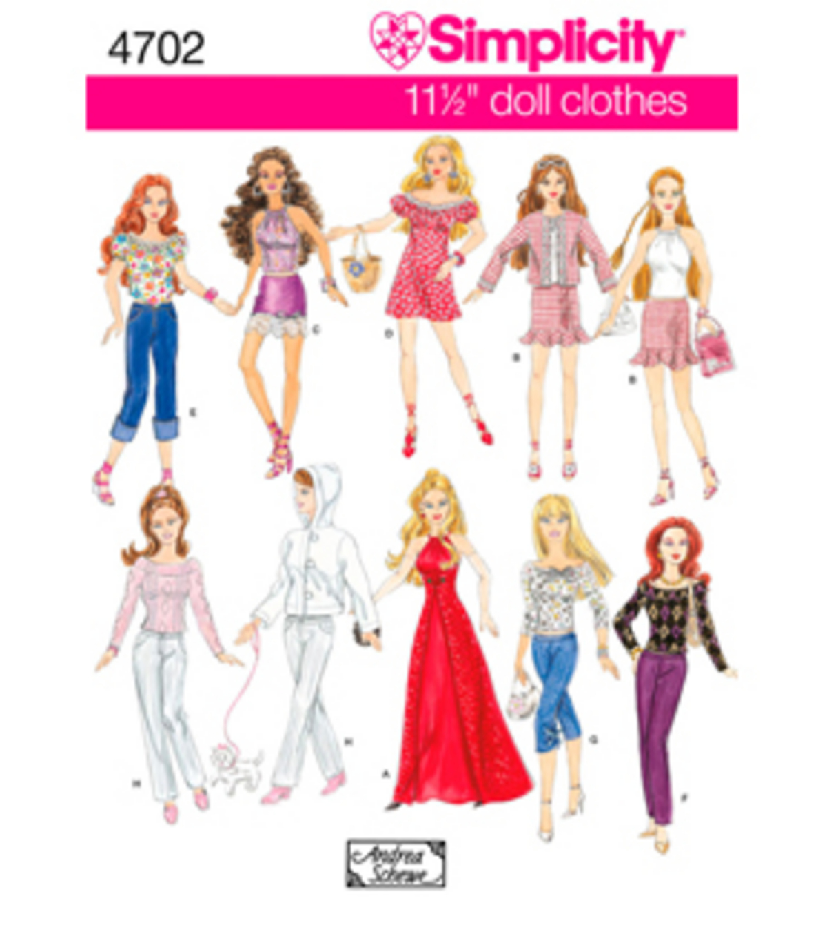 Simplicity Pattern 4702OS One Size Crafts
