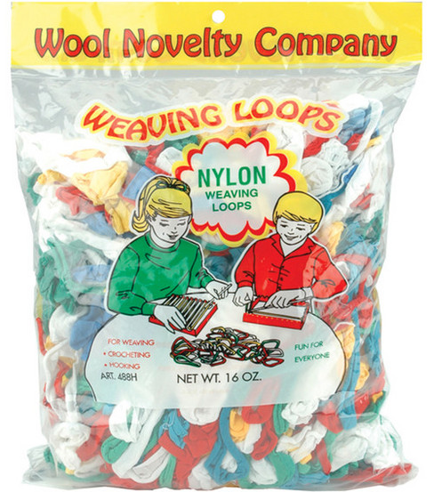 Nylon Weaving Loops 16oz-Assorted