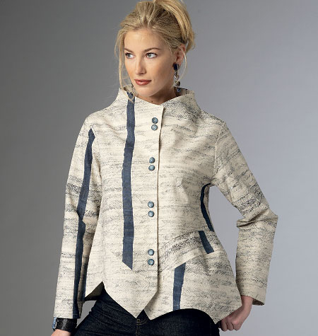 Butterick Misses Jacket-B6106